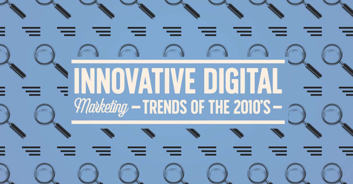 innovative digital marketing trends | clicks and clients